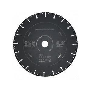 ディスクグラインダー 用 オールカットアトム ダイヤモンドディスク 305×3.1×30.5(25.4/22) コンクリート 鉄 乾湿両用 ローデウス 三冨D|plusys