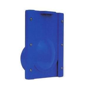 水口栓 75型 青 (水田用 給 排水口 水位 調整 ) VU75 塩ビパイプ に接続可能  田 田んぼ 水田 用 排水口 吸水口 取水栓 北EDPZZ|plusys