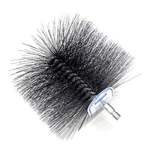 煙突掃除 用 ネジ付ワイヤーブラシ 直径 106mm No.501806001 【ホンマ製作所】 plusys