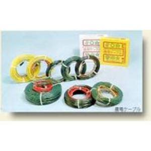 農電ケーブル 3-1000 ( 三相200v 1000w 120m ) 農業用 三相 200v 電線 電気ケーブル 配線ケーブル 温床線 ケーブル タ種DNZZ|plusys