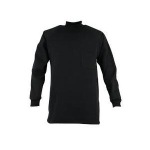 裏起毛ハイネックシャツ 6629 カジメイク|plusys