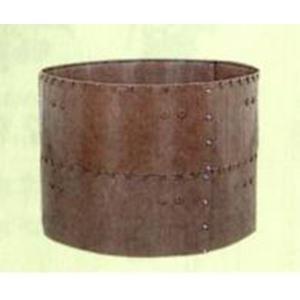 【個人宅配送不可】【北海道不可】堆肥枠 容量1540L C-24 直径140×高さ50cm サンポリ【代引不可】|plusys