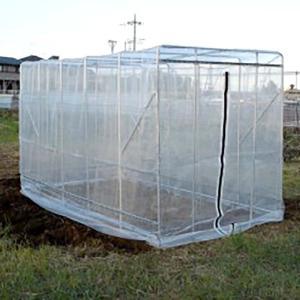 2坪タイプのネットハウス ハウス全面を防虫網が囲みますので、犬猫の侵入や病害虫の心配も大幅に軽減。さ...