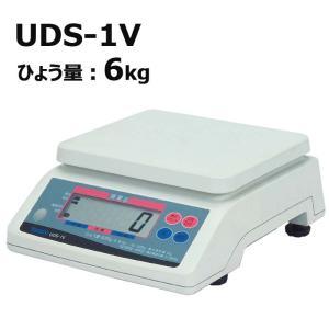 デジタル 上皿はかり UDS-1V-6 ひょう量6kg 検定品 大和製衡 ヤマト 高K【代引き不可】|plusys