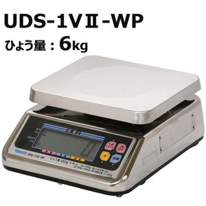 防水型 デジタル 上皿はかり UDS-1V2-WP-6 ひょう量6kg 検定品 大和製衡 ヤマト 高K【代引き不可】|plusys