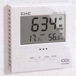 CO2 コントローラー NMA-PR-RD  データロガー 内蔵 二酸化炭素 CHC シー・エイチ・...