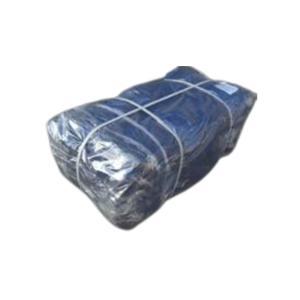 【名札あり】 種もみ袋 ( 種籾 ネット、種籾消毒袋 ) - 大40×65cm 青色 10枚入れ 日ADNZ|plusys