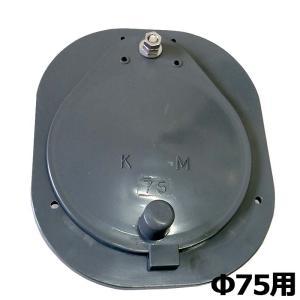 水口パイプ 灰色 75型 VP75 VU75 用 塩ビパイプ に接続可 KMW01 ( 田んぼ 水田 田 田んぼ の給水口 吸水口 取水栓 ) カEDPZZ|plusys