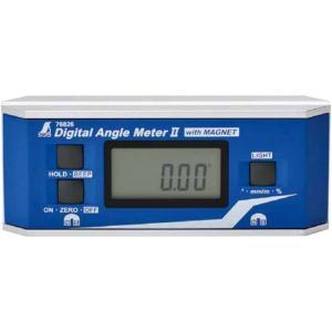 デジタルアングルメーター 2 防塵防水 マグネット 付 [ 76826 ] シンワ測定H|plusys