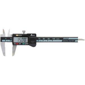 デジタルノギス ミニ ホールド機能付 100mm [ 19974 ] シンワ測定H|plusys