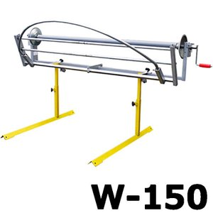 【大型配送】シート巻取機 W-150 (ハンドル駆動式) みのる産業 シBD|plusys