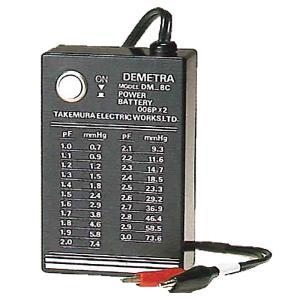電池 (006P)2ケ DC-1 DM-8HG 専用 電源 竹村電機製作所 カ施 代引不可