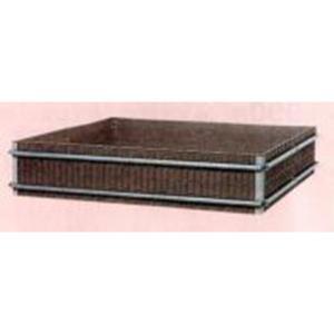 【個人宅配送不可】【北海道不可】堆肥枠 容量1520L A-19 190×190×高さ42cm サンポリ【代引不可】|plusys