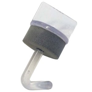 ポリカフック クリアー 19mm 100本 波板用 アMD|plusys