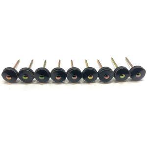 ポリカーボネイト 連結傘釘 38mm クリアー 30連 (270本分) 木下地用 波板用 アMD|plusys