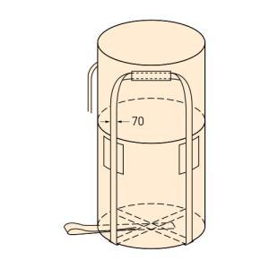 コンドーテック コンテナバッグ 丸型 KR-2-ST 10枚入 【1トンバッグ フレコンバッグ】 コT【代引不可】|plusys