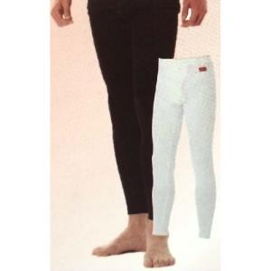 ブレスサーモ やわらかストレッチ 男性用 ロングパンツ Mサイズ ブラック 三冨D|plusys