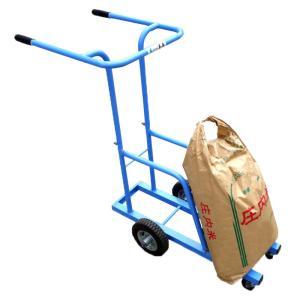 【納期約1ヶ月程度】うんぱんマン RD-20 米袋運搬台車 移動台車 肥料袋も 美善 【代引不可】|plusys