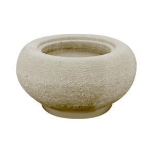【北海道発送不可】 出雲 鉄鉢 (テッパチ) 1.3尺 40cm 手水鉢 水鉢 【代引不可】|plusys