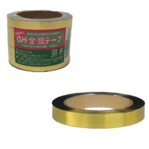 コンパル 防鳥テープ OH 金銀テープ 5巻入 12mm×90m アサノヤ産業 PD|plusys