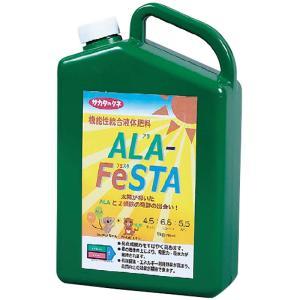 【1本】 アラフェスタ 1kg ALA-FeSTA 万能型液肥 液体肥料 サカタのタネ サT 【代引不可】|plusys