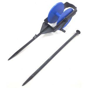 巻取器と杭のセット 玉ちゃん付きひも用 (紐は付属しません。)カ施DPZZ plusys