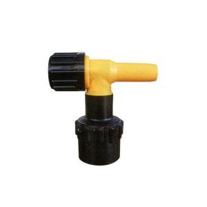 【コックのみ】 取付部強化タイプ ドラム缶用 MWC-40S 黄色 口金直径 40用 コJPH|plusys