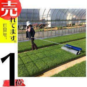 育苗転圧ローラー TR-1000 健苗 苗踏みローラー 水稲 の 密播 密苗 疎植 の 育苗 に ケーエス製販 【代引不可】|plusys