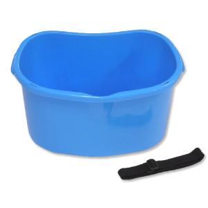 【個人宅配送不可】【20個】散布桶 18型 ブルー 容量 約17L 安全興業【代引不可】|plusys