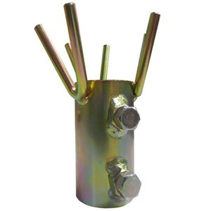 単管 用 吊り金具 吊り助 SO-T01 単管パイプ 直径 48.6 用 セキカワ 果樹棚 棚線支持 フT D|plusys