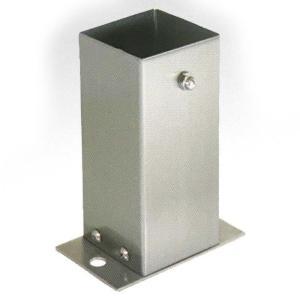【6個セット】 装飾 柱脚 金物 100角 SB100 ストレート ステンレス製 西潟 アMD plusys