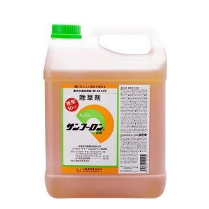 サンフーロン 【 10L 】 根まで枯らす グリホサート 系 除草剤 頑固な スギナ どくだみ 竹 笹 に 日BDPZZ|plusys