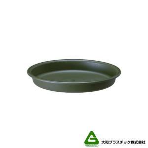 【180個】 グロウプレート 12型 グリーン 大和プラスチック 直径114×H18mm 受皿 グロウコンテナ用 蓋 丸型 鉢皿 タ種 【代引不可】 plusys
