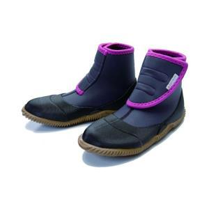 ノモド nomodo ワークシューズ NMD502 グレー サイズM (24.5-25.5cm)  農作業 靴 アトムワークス 三冨D plusys
