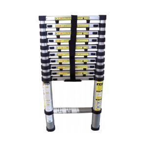 伸縮式 はしご 13段 3.8M ハシゴ 坂KH|plusys