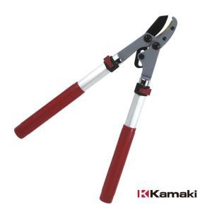 太枝切鋏 アンビルタイプ 4362NA 軽量 伸縮式 鋏 はさみ ハサミ kamaki カマキ 三冨D|plusys