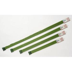 グリーン鉄線 直径 3.2mm×75cm 10本入り 第一ビニール 金TD plusys
