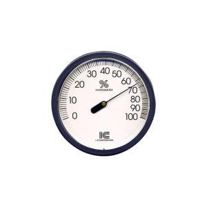 湿度計 サーモ410 直径100mm アイシー 金TD|plusys
