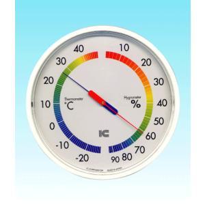 温湿度計 サーモ435 アイシー 金TD|plusys