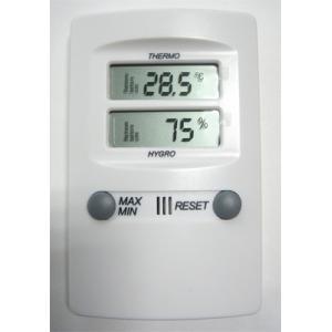 デジタル温湿度計 サーモ1020 アイシー 金TD|plusys