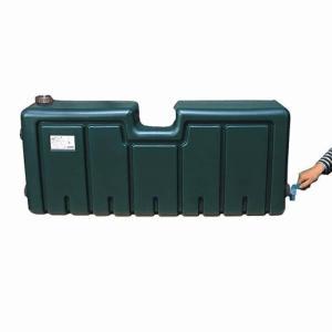 ミツギロン 雨水タンク 連結用 50L EG-25 ダークグリーン 屋外用貯水用品 金TD