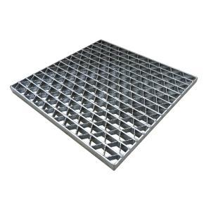 ユニバーサルデザイン グレーチング 110°オープンますぶた 車道用 スチール製 ます穴(幅700×...