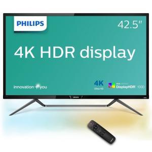 【在庫目安:あり】 PHILIPS 436M6VBPAB/11 42.5型 4K DisplayHDR1000対応 MVA液晶ディスプレイ 5年間フル保証|plusyu