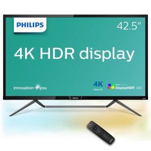 【在庫目安:お取り寄せ】PHILIPS  436M6VBRAB/11 42.5型 4K DisplayHDR400対応 MVA液晶ディスプレイ 5年間フル保証|plusyu