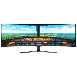 【在庫目安:あり】 Acer 49インチ湾曲液晶モニター EI491CRPbmiiipx (VA/ 非光沢/ 3840x1080/ 32:9/ 400cd/ 4ms/ HDR/ HDMI・DisplayPort)|plusyu