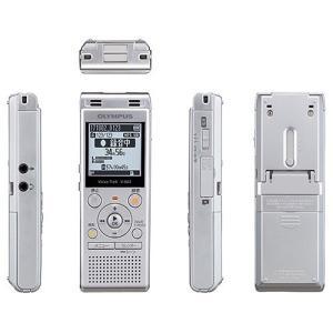 【在庫目安:あり】OLYMPUS  V-862 SLV ICレコーダー Voice-Trek (シルバー)|plusyu