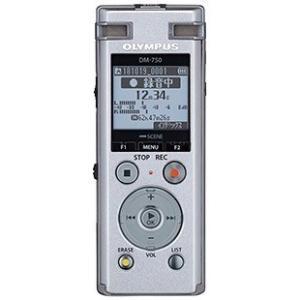 【在庫目安:あり】OLYMPUS  DM-750 SLV ICレコーダー Voice-Trek (シルバー)|plusyu