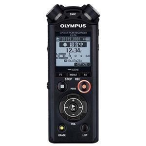 【在庫目安:あり】OLYMPUS  LS-P4 BLK リニアPCMレコーダー (ブラック)|plusyu