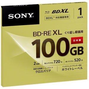 【在庫目安:お取り寄せ】SONY  BNE3VCPJ2 日本製 ビデオ用BD-RE XL 書換型 片面3層100GB 2倍速 ホワイトワイドプリンタブル 単品
