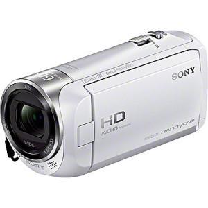 【在庫目安:あり】SONY  HDR-CX470/W デジタルHDビデオカメラレコーダー Handycam CX470 ホワイト plusyu